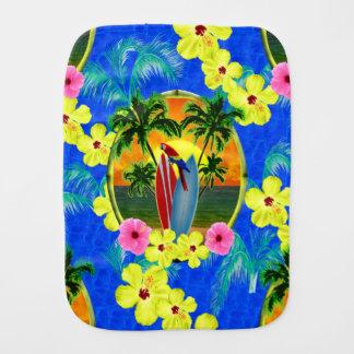 Linge De Bébé Coucher du soleil tropical