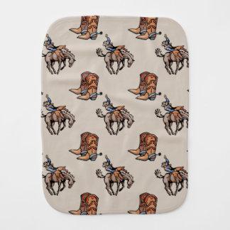 Linge De Bébé Cowboy de rodéo, bottes occidentales, cheval, pays