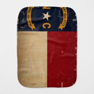 Linge De Bébé CRU de drapeau d'état de la Caroline du Nord