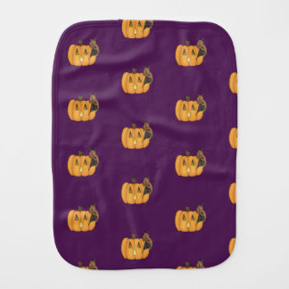 Linge de bébé de batte de festin de Halloween