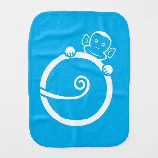 Linge de bébé de logo de PoppaChango