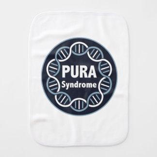 Linge de bébé de logo de PURA