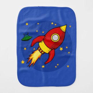 Linge de bébé de rouge de Rocket