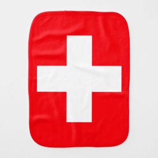 Linge De Bébé Drapeau de la Suisse