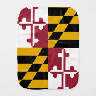 Linge De Bébé Drapeau d'état du Maryland
