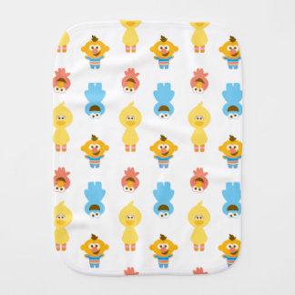 Linge De Bébé Elmo, monstre de biscuit, Bert et monstre de