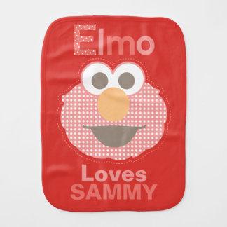 Linge De Bébé Elmo vous aime que   ajoutent votre nom