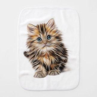 Linge De Bébé gamme de conception de fractale de chaton