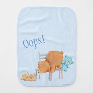 Linge De Bébé Grand ours de Brown, calicot, et chaises souples