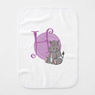 Linge De Bébé H est pour l'hippopotame