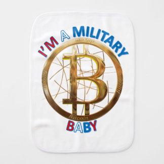 Linge De Bébé Habillement militaire de bébé de Bitcoin