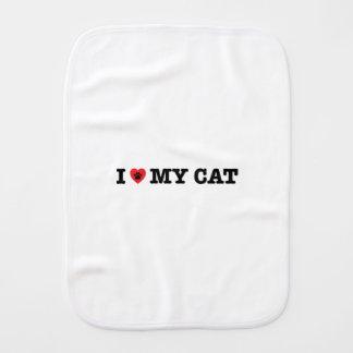 Linge De Bébé I coeur mon chat