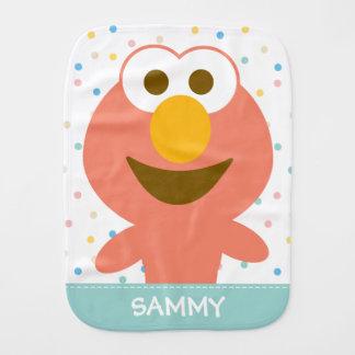 Linge De Bébé Le bébé d'Elmo   ajoutent votre nom