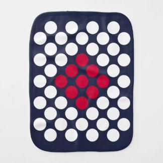 Linge De Bébé Le minimaliste de drapeau du Japon pointille le