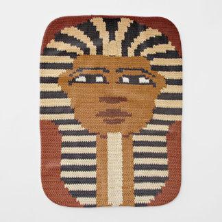 Linge De Bébé Le Roi égyptien antique Brown Crochet Print de