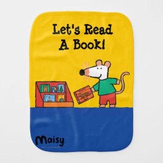 Linge De Bébé Maisy avec des livres de bibliothèque