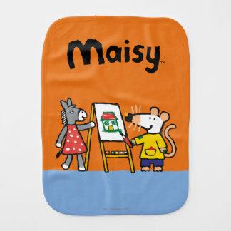 Linge De Bébé Maisy et peinture pointillée à l'école maternelle