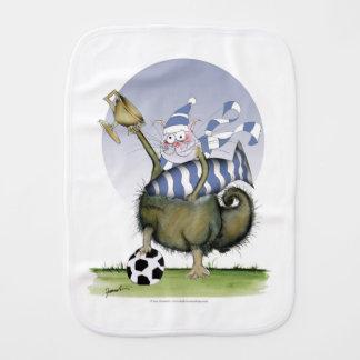 Linge De Bébé minou de bleus du football