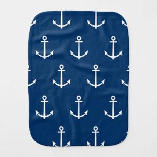 Linge De Bébé Motif 1 d'ancres de bleu marine