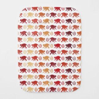 Linge De Bébé Motif rouge de singes