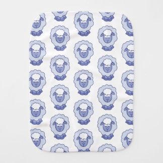 Linge De Bébé Moutons bleus mignons