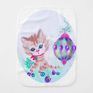 Linge De Bébé Rétro Noël Kitty