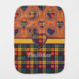 Linge De Bébé Tartan d'écossais de plaid de clan de Buchanan