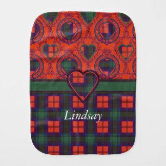 Linge De Bébé Tartan d'écossais de plaid de clan de Lindsay