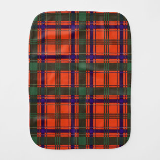 Linge De Bébé Tartan d'écossais de plaid de clan de Munro