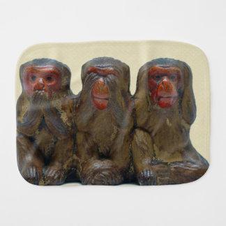 Linge De Bébé Trois singes sages