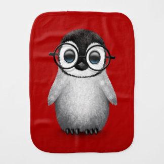 Linge De Bébé Verres de port d'oeil de pingouin mignon de bébé