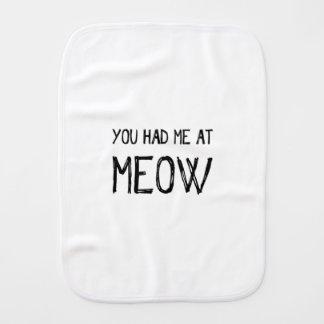 Linge De Bébé Vous m'avez eu au Meow