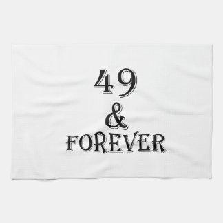 Linge De Cuisine 49 et pour toujours conceptions d'anniversaire