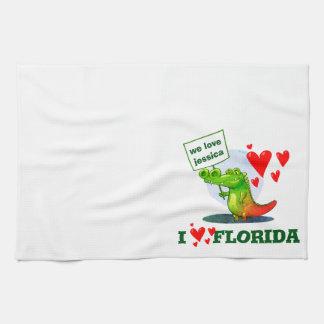 Linge De Cuisine amour drôle la Floride de la bande dessinée i de