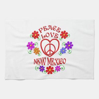 Linge De Cuisine Amour Nouveau Mexique de paix