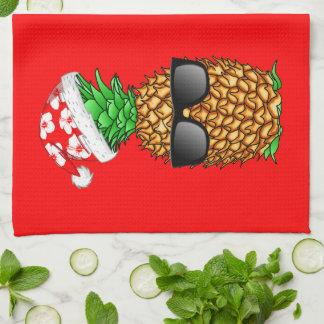 Linge De Cuisine Ananas du père noël