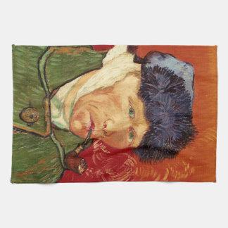 Linge De Cuisine Autoportrait de Van Gogh avec l'oreille et le