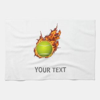 Linge De Cuisine Balle de tennis personnalisée sur le cadeau de