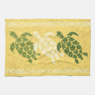 Linge De Cuisine Batik hawaïen de Tapa de tortue de mer de Honu -