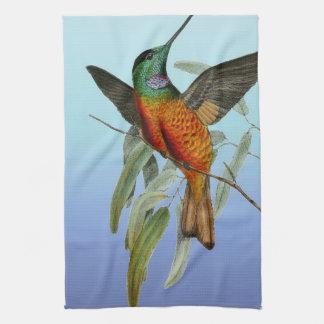 Linge De Cuisine Bleu de colibri