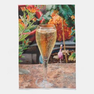 Linge De Cuisine Célébration de Champagne de chute