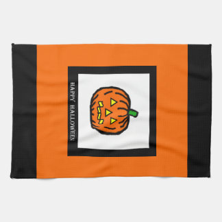 Linge De Cuisine Citrouille de Halloween
