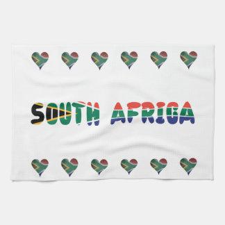 Linge De Cuisine Coeur sud-africain