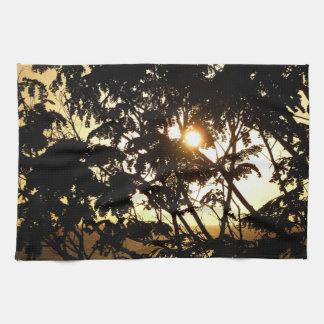 Linge De Cuisine Coucher du soleil par la photographie tropicale