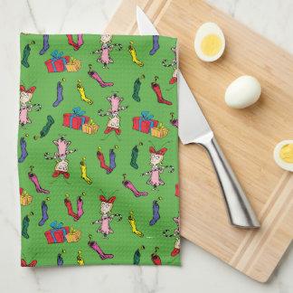 Linge De Cuisine Dr. Seuss | le Grinch | Cindy Lou qui modèlent