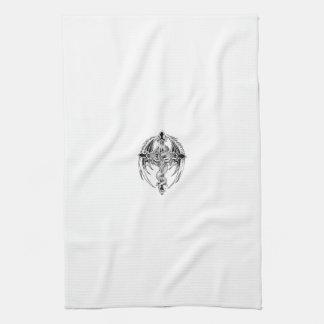 Linge De Cuisine Dragon cross