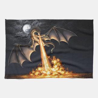 Linge De Cuisine Dragon fire