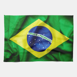 Linge De Cuisine Drapeau brésilien