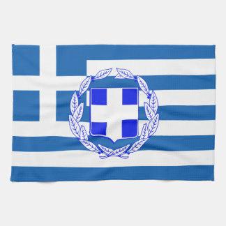 Linge De Cuisine Drapeau de la Grèce