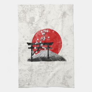 Linge De Cuisine Drapeau et symboles du Japon ID153
